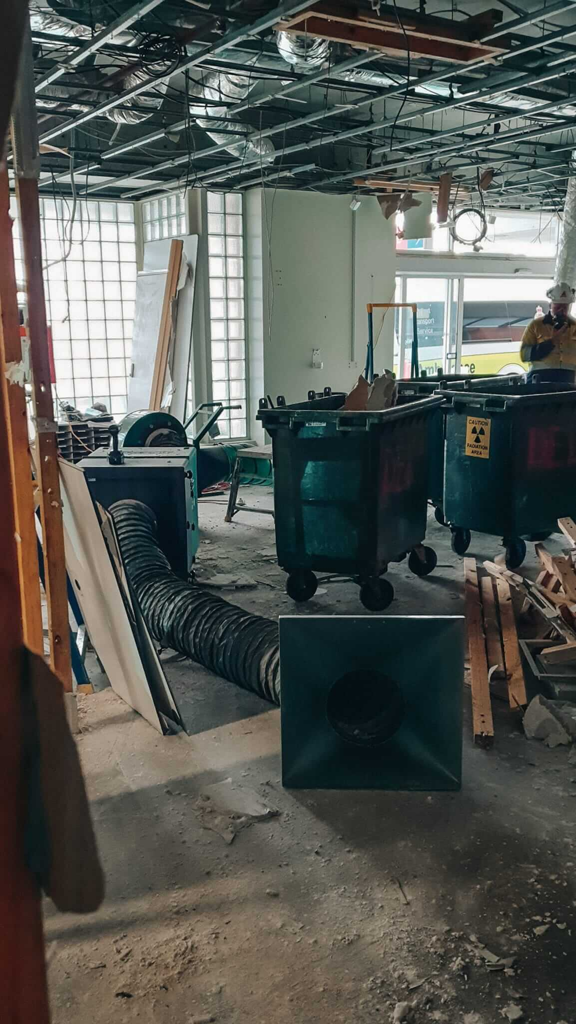 dust control equipment 300M and wandafilter