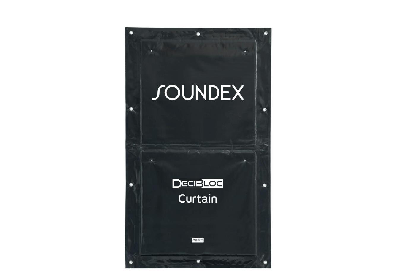 Decibloc noise curtain