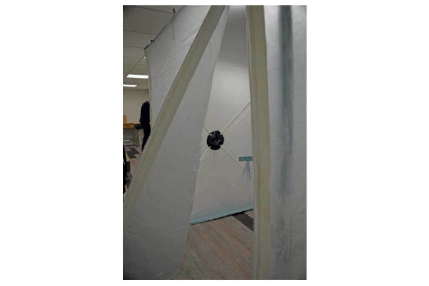 Mini Dust Enclosure for Hire
