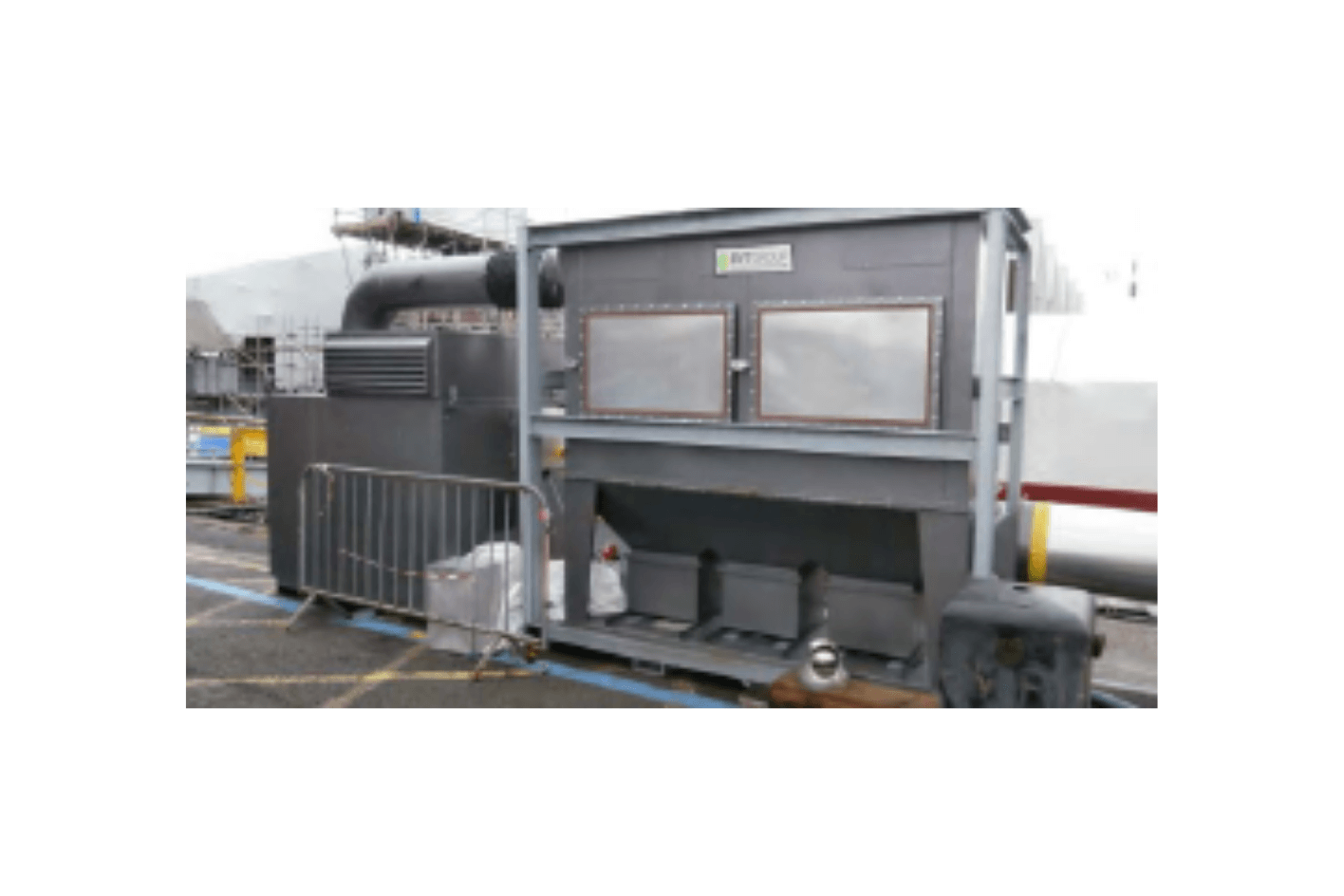 Dustex Clear Blast 900 Self-Contained Dust Extractor for Hire
