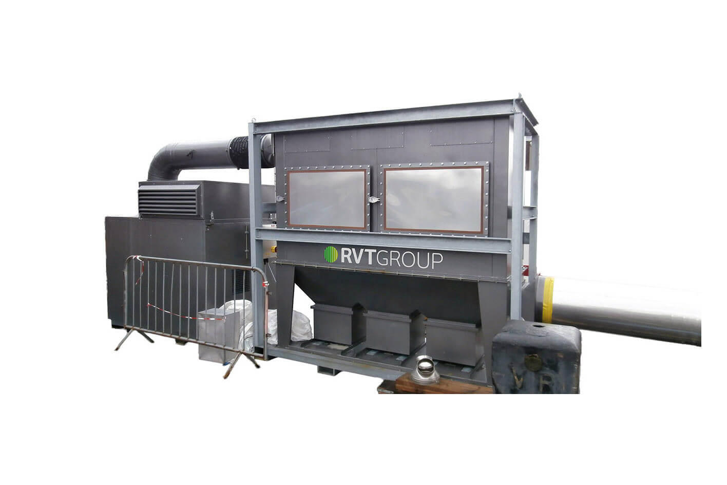 Dustex Clear Blast 900 Self-Contained Dust Extractor