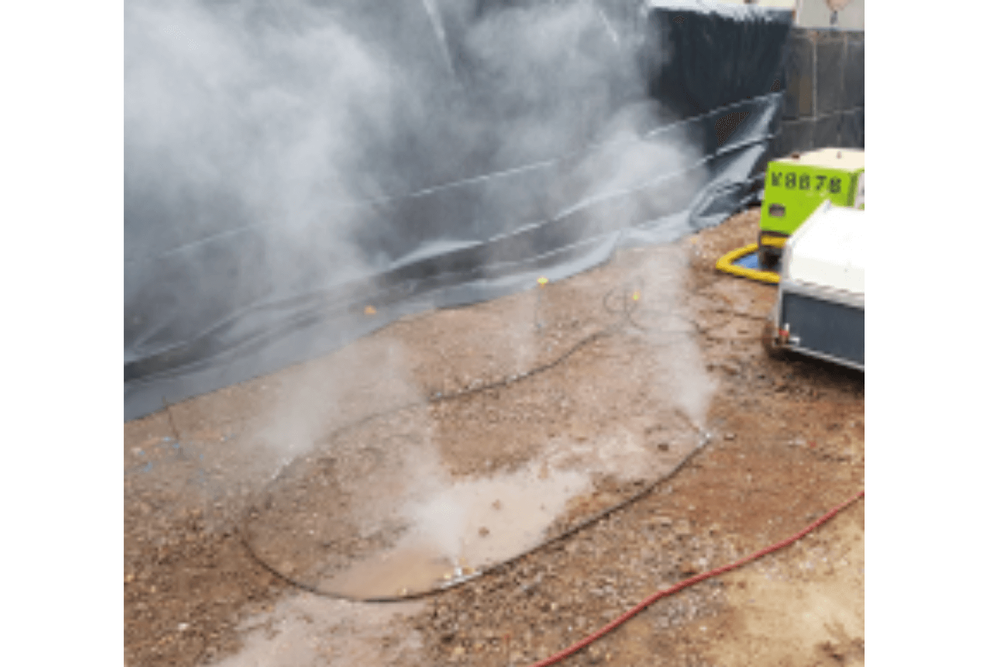 Dustex Hydra Mist Dust Water Suppression for Hire