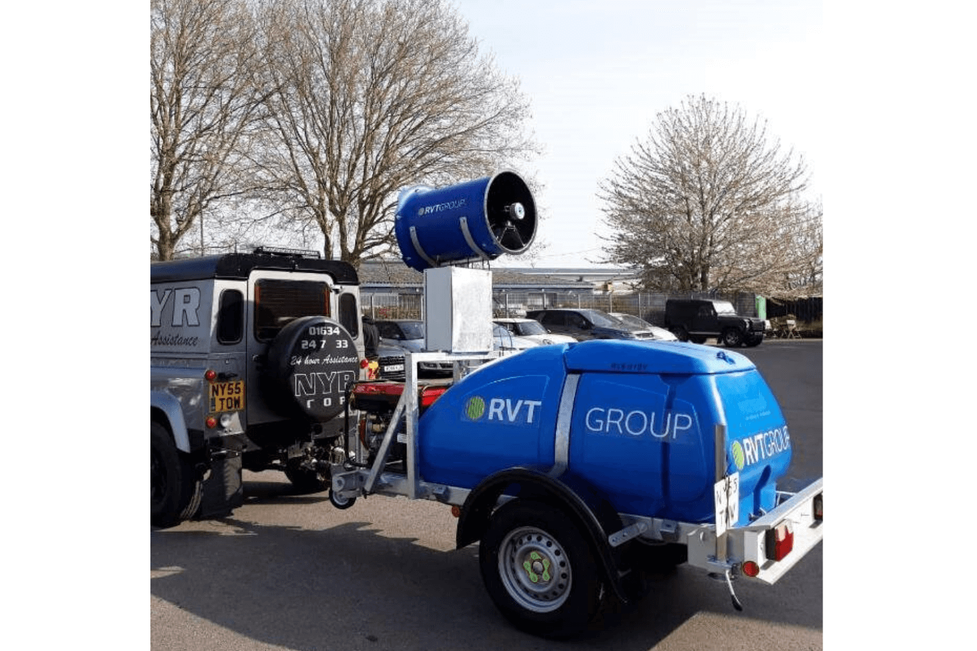Hydramist 15GT Dust Water Supperssion for Hire