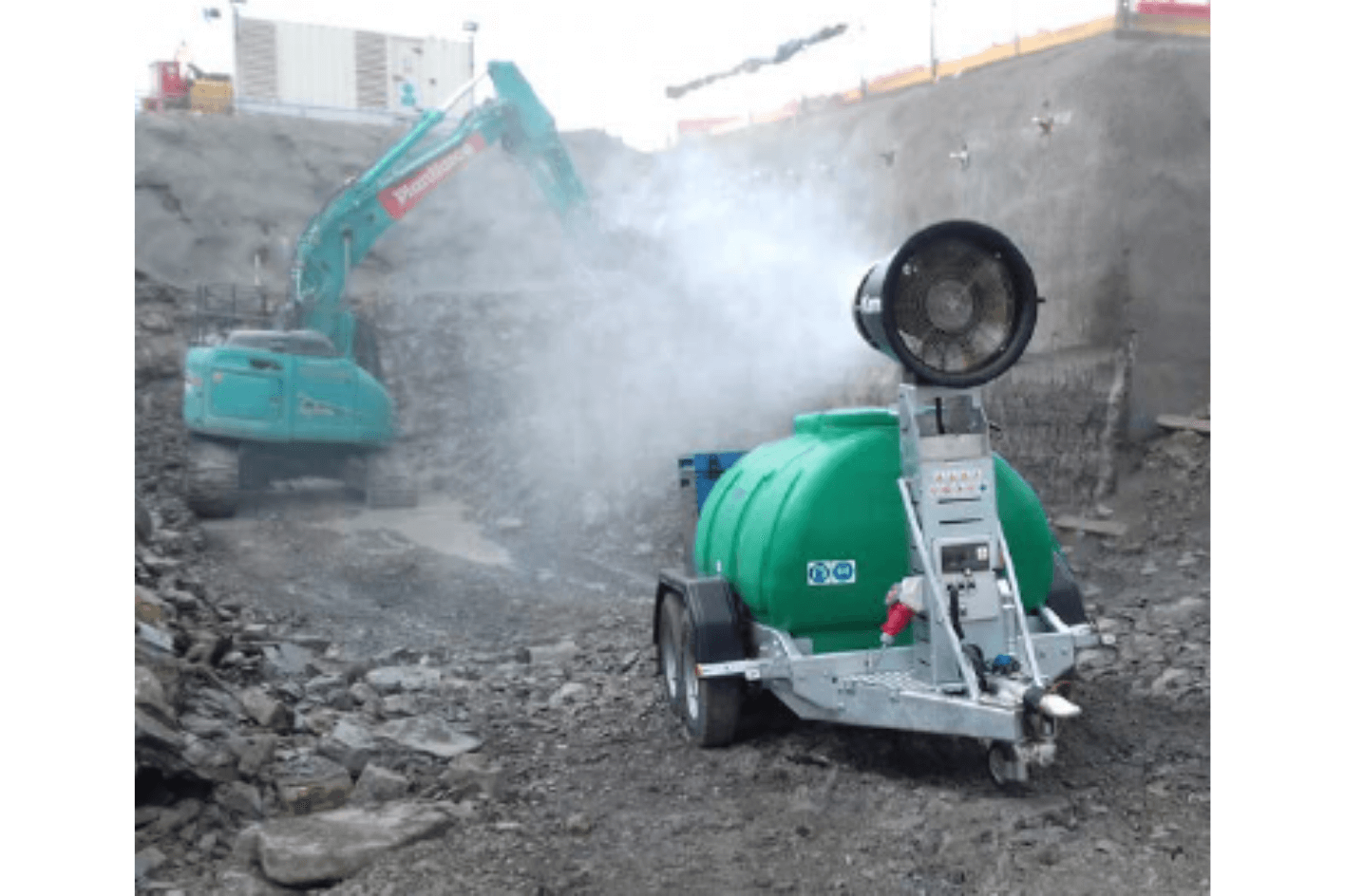 Hydramist 40 Dust Suppression Unit for Hire
