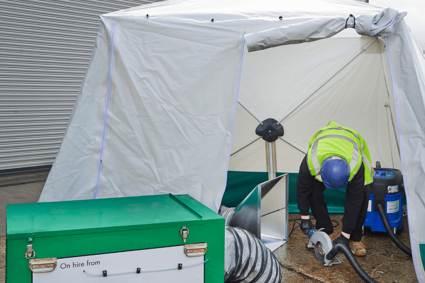 DUSTEX Pop-up Tent Dust Enclosure for Purchase