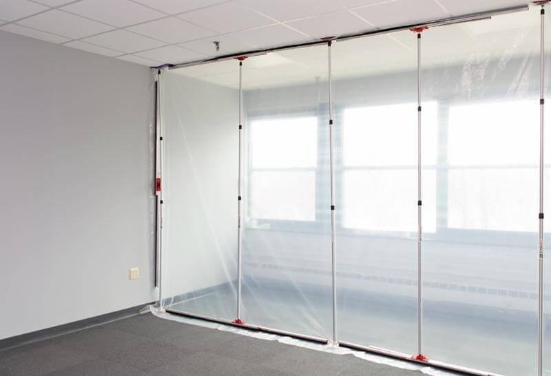 Zip Wall Temporary Screening System