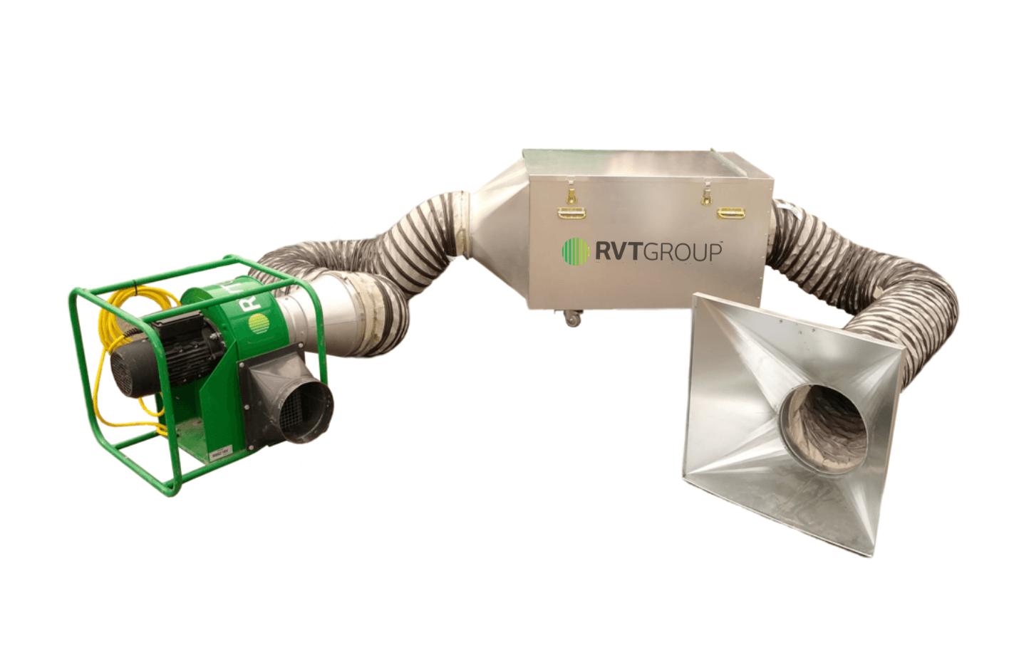 RAVEX Carbon Fume Filtration Kit