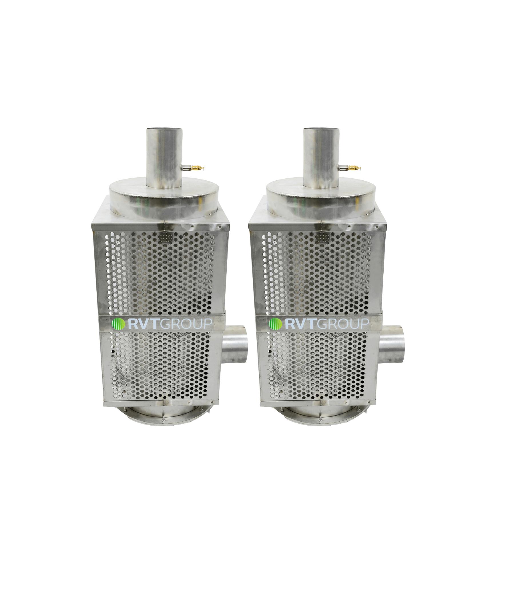 RAVEX Diesel Filter Kit HD90 Twin Kit_Fume Extraction